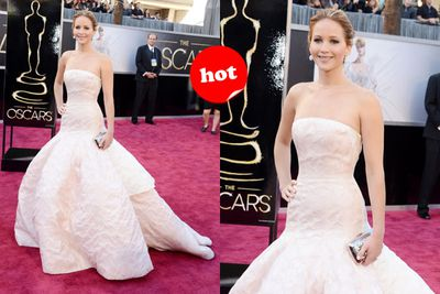 Jen's <i>Silver Linings</i> fairytale is complete with this princess-like dress!