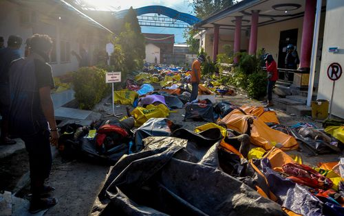 The death toll from the earthquake and tsunami is at more than 830 and is expected to rise.