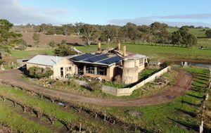 Lightning strike destroys three-generation family home