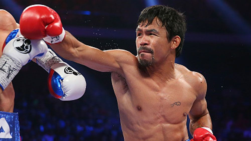 Manny Pacquiao. (Getty)