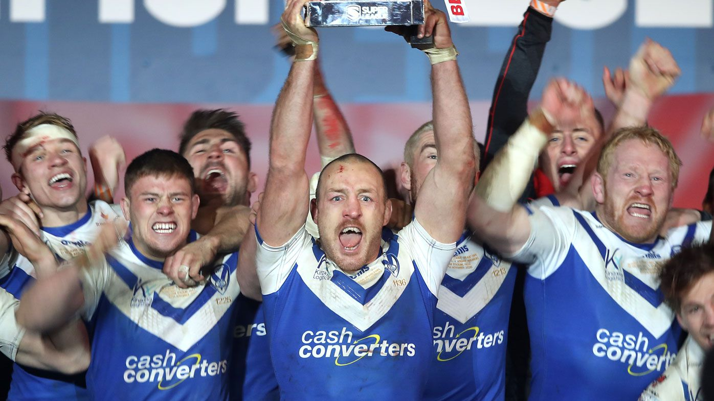 St Helens claim the 2020 English Super League title. (Getty)