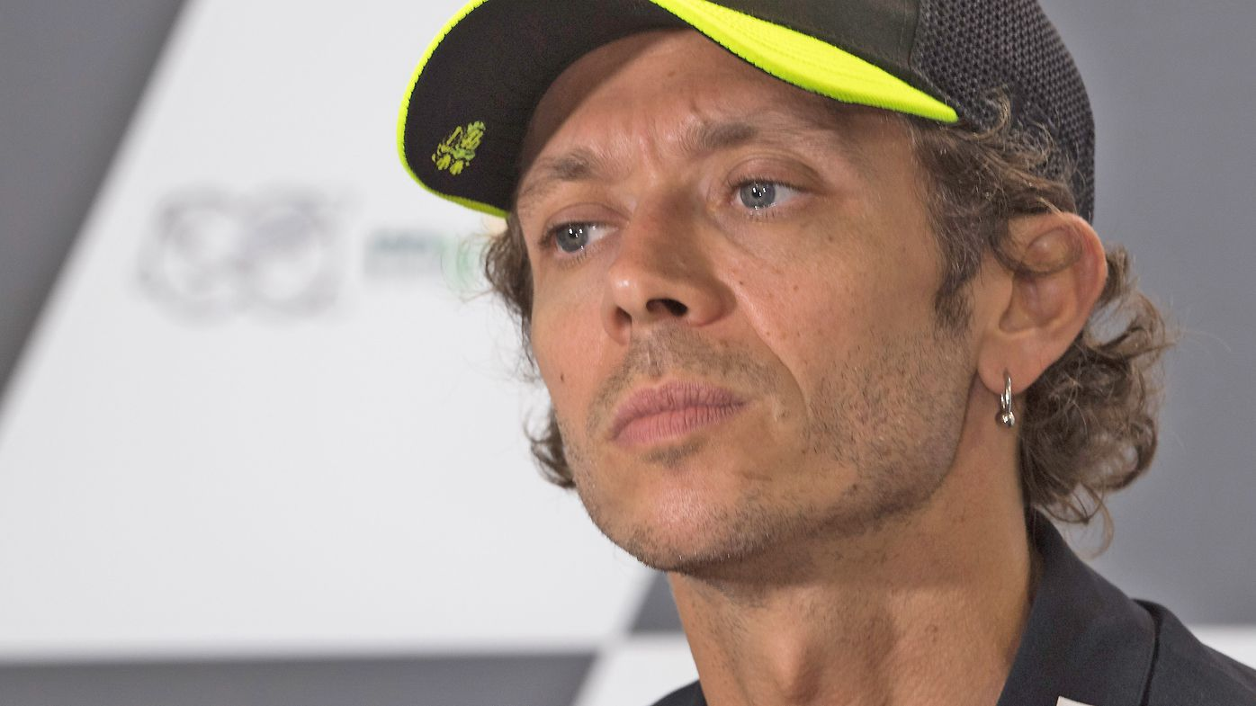 Valentino Rossi of Italy and Monster Energy Yamaha MotoGP Team