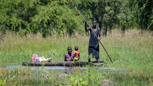 'Our children die in our hands': Floods ravage South Sudan