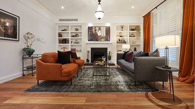 The Block 2019: El\'ise and Matt\'s Formal Living Room