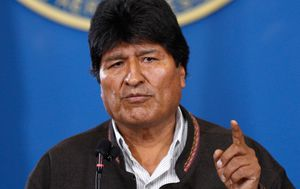 Bolivian President Evo Morales resigns over 'serious irregularities' in election