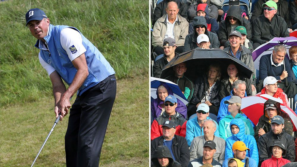 Fan blasts unsporting crowds at British Open but the joke is on him