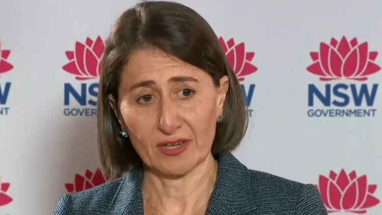 Queensland Premier's freaky text to Gladys Berejiklian