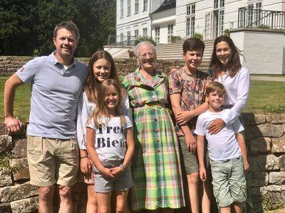 Princess Mary's summer holiday begins, July 2019