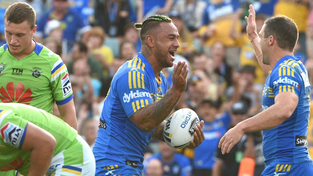 Eels hand Raiders NRL thrashing