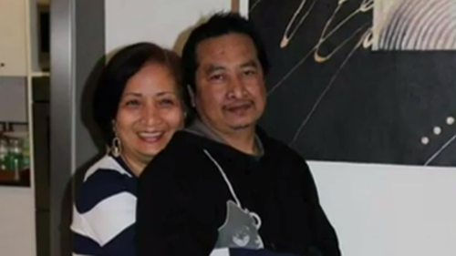 Editha Alegre was driving home with her husband Sandro from a Christmas party in 2014 when their car was hit.