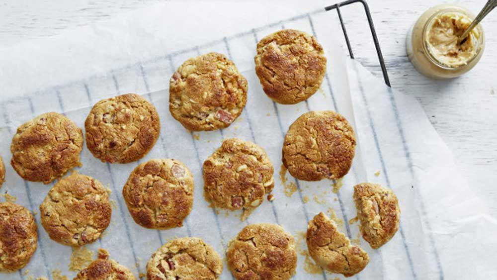 I Quit Sugar's bacon peanut butter cookies