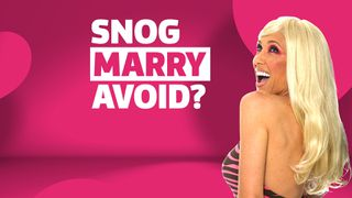 snog marry avoid?