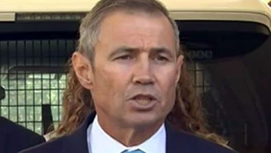Roger Cook sporting a glorious accidental mullet this week.