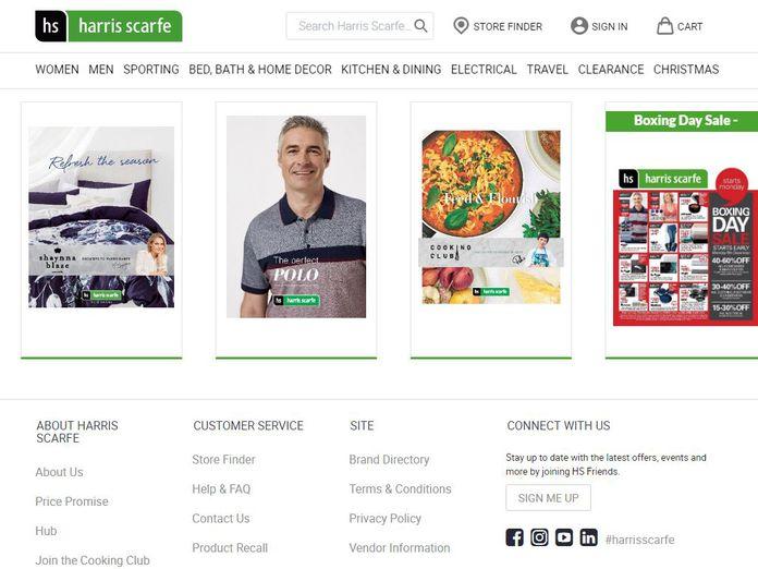 Aussie Retailer Harris Scarfe Collapses