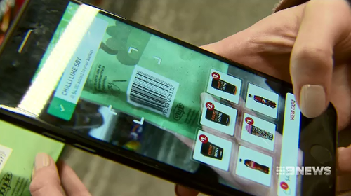 Customers at the head office location can now only pay for their goods using a smartphone app.