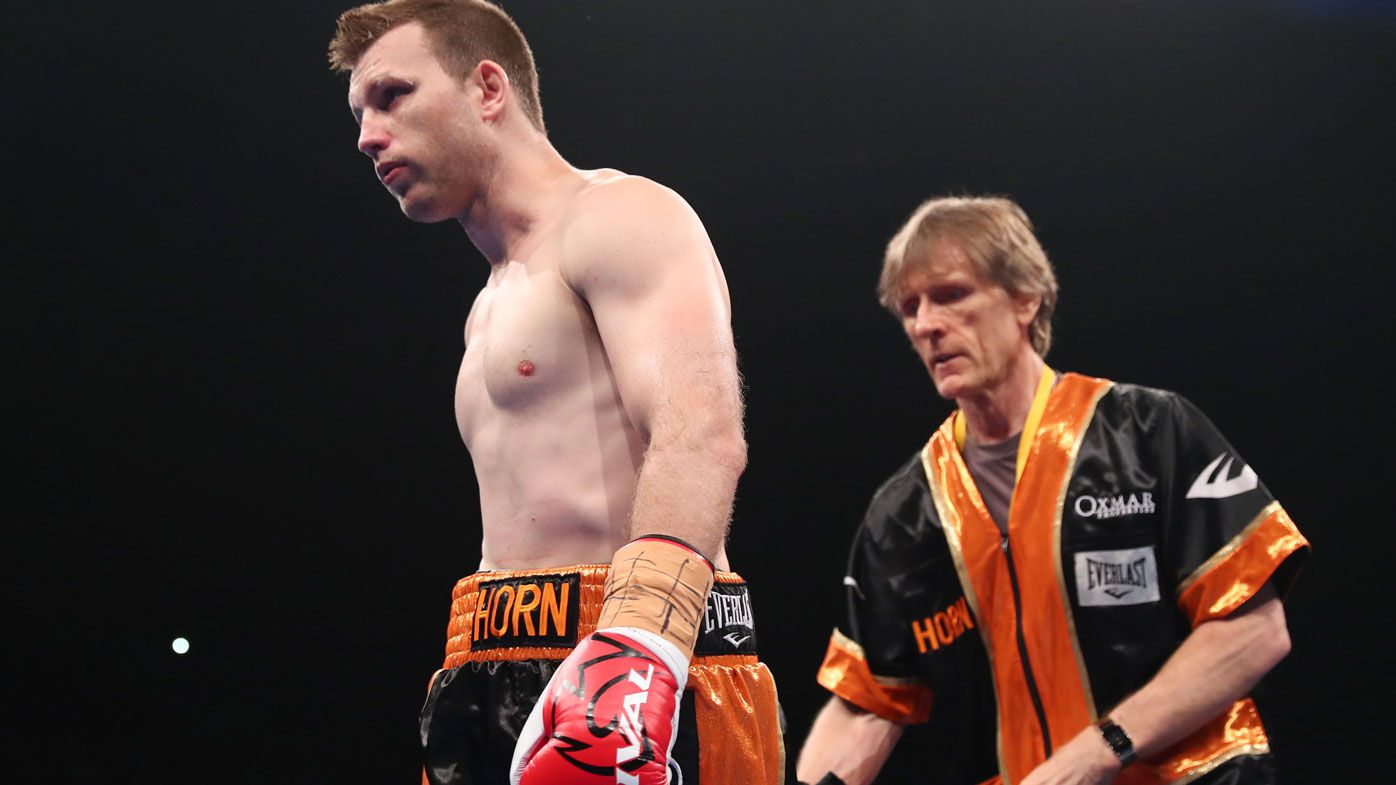 Jeff Horn's trainer Glenn Rushton fires back at critics over controversial ending in loss to Tim Tszyu