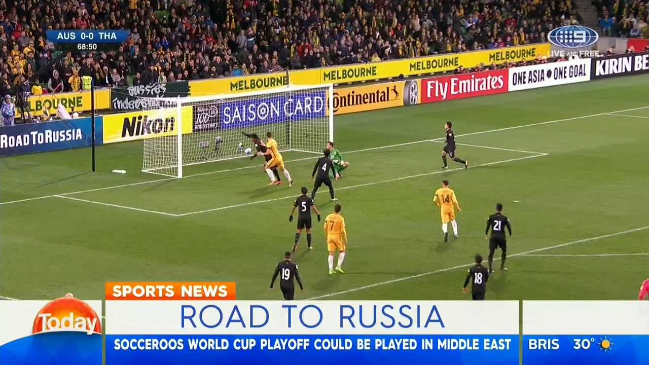 Socceroos to play Syria in middle east