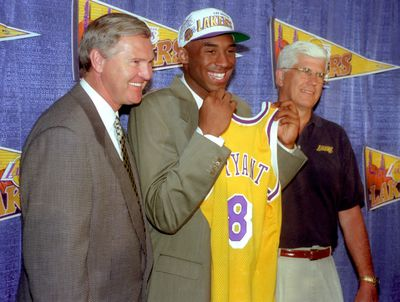1996: Traded from Charlotte to LA Lakers