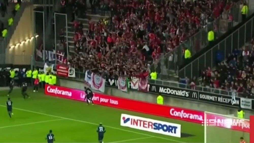 French Ligue 1 match between Amiens and Lille abandoned after barrier break
