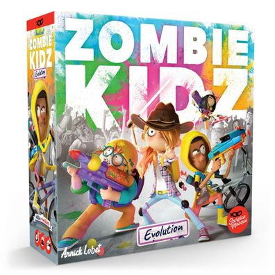 Just what kids need, to spend the school holidays protecting a school from a zombie invasion.