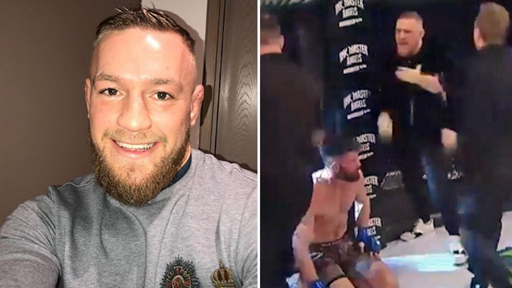 Conor McGregor apologises for storming cage at Bellator 187 and attacking referee
