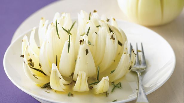 Herbed onion flower
