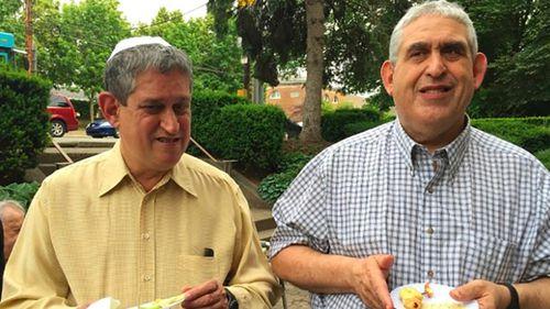 David Rosenthal, left, and Cecil Rosenthal (CNN)