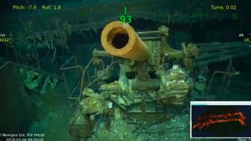 Sunken warship discovered off coast of Australia after 76 years