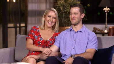 Lauren and Matthew reveal whether they've chosen to stay or leave during the Commitment ceremony.
