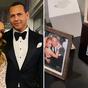 Alex Rodriguez shared old photos of Jennifer Lopez
