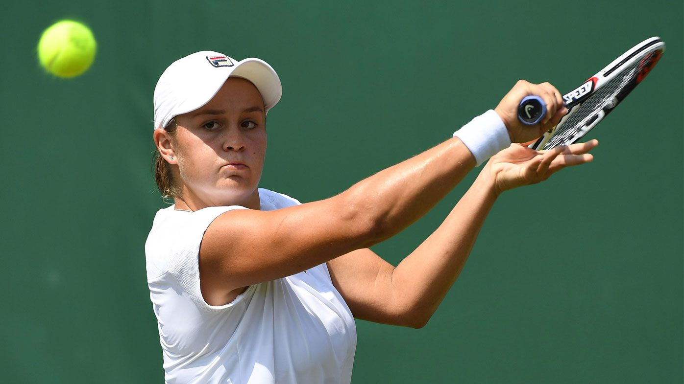 Error-prone Barty bombs out of Wimbledon