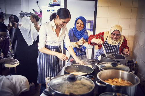 She championed the cookbook project as a way of ensuring the kitchen could operate more regularly.