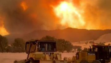 New danger warning as fires ease