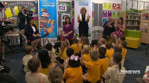 The Palaszczuk government has called on retirees, part-time working parents and grandparents to fill the volunteer spots. Picture: 9NEWS.