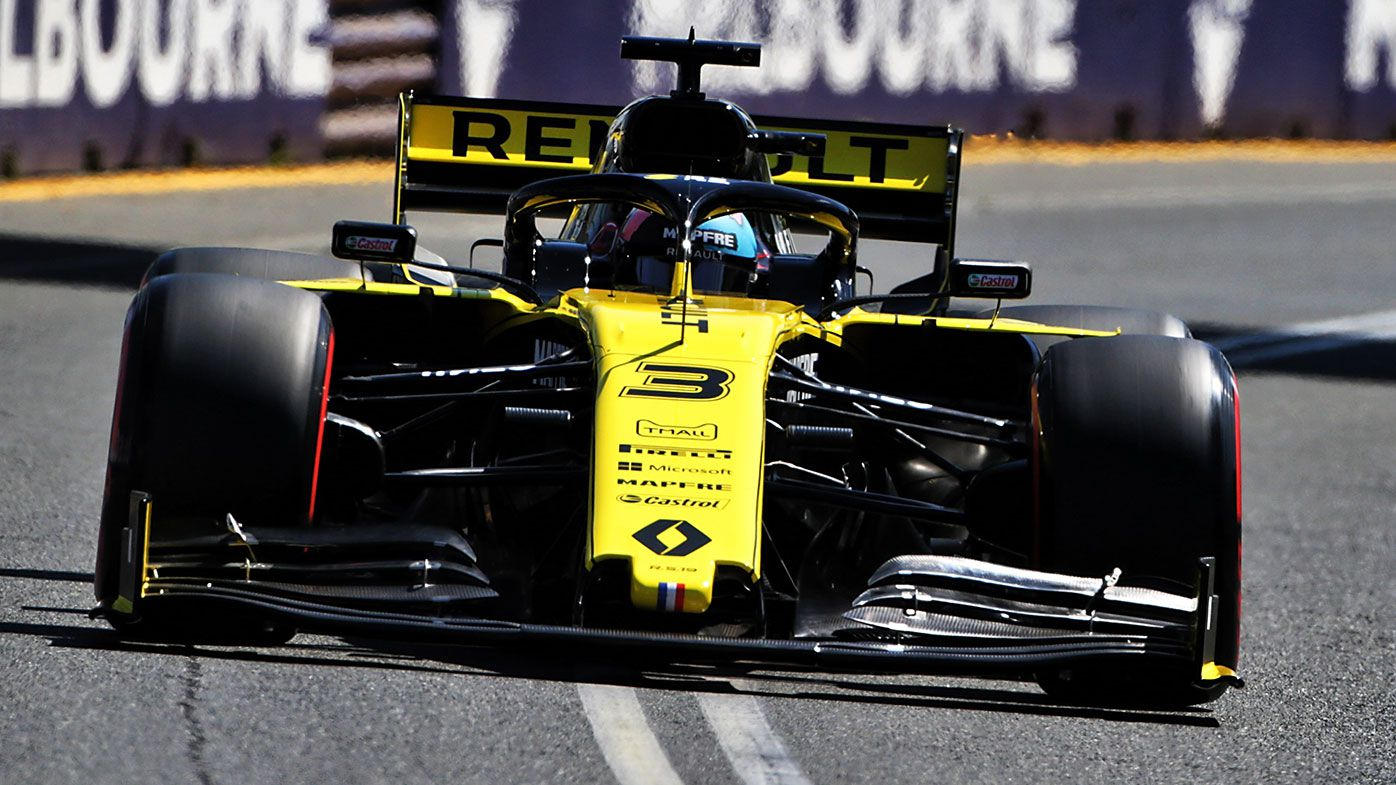 Reliability issues for Renault during opening practice at Australian Grand Prix