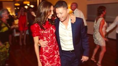 Michael Clarke and Kyly celebrate five-year anniversary.