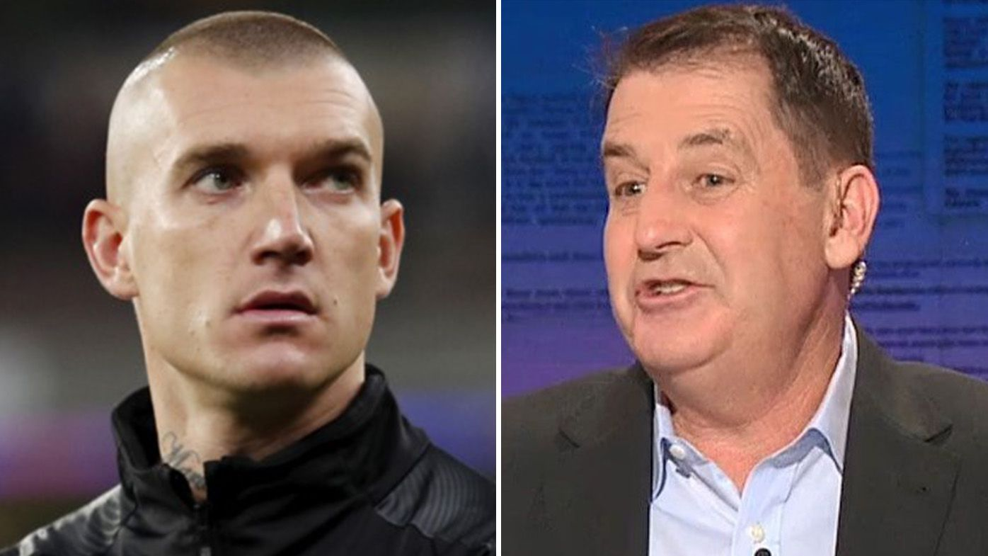 'I'd row him there': Ross Lyon backs Richmond's call to let Dustin Martin visit New Zealand