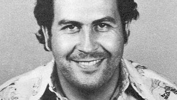 Colombian drug cartel Pablo Escobar.