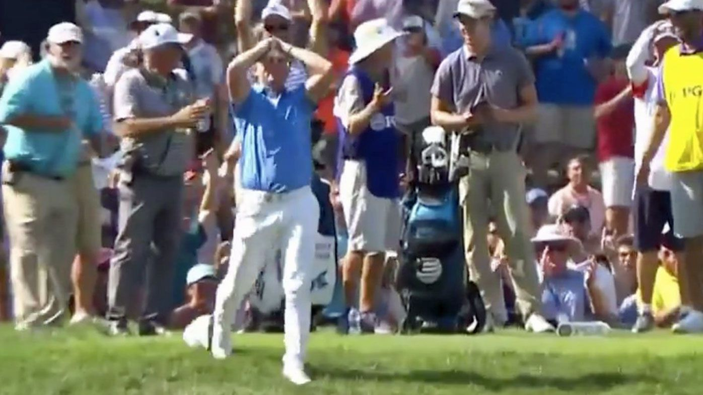 Matt Wallace revels in PGA Championship hole-in-one, despite being called 'Mike' by commentator
