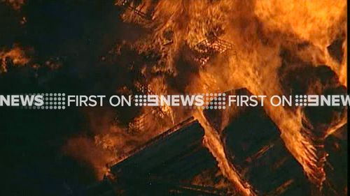 An evacuation centre was set up for people from nearby businesses and homes. (9NEWS)