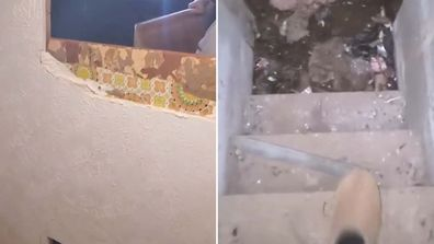 Couple find hidden room in their home and share it on TikTok