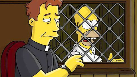 The Vatican blesses Homer Simpson