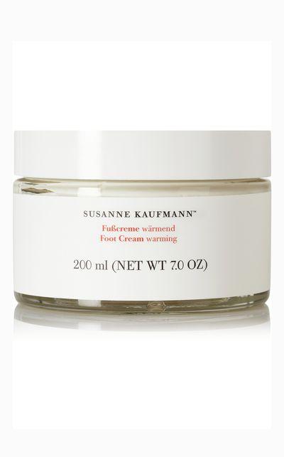 "<em><a href=""http://www.net-a-porter.com/product/463673/Susanne_Kaufmann/warming-foot-cream-200ml "" target=""_blank"">Susanne Kaufmann Warming Foot Cream</a></em> - A rich cream that'll boost circulation and revitalise rough, tired feet.<br><br><div>&nbsp;</div>"
