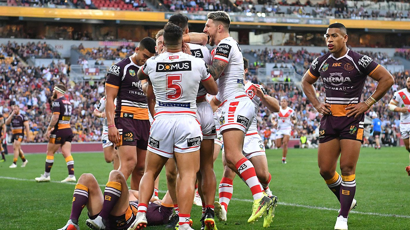 Phil Gould says Brisbane Broncos 'not ready for war' following elimination final drubbing