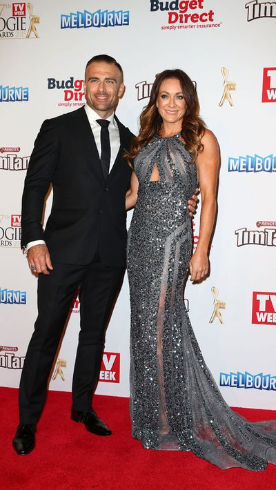 Steve 'Commando' Willis and Michelle Bridges<br>