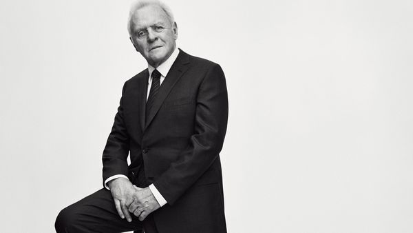Sir Anthony Hopkins in the Brioni campaign. Image: Brioni