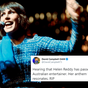 Celebrities pay tribute to Aussie singer Helen Reddy