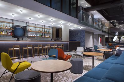 Aloft Perth, W XYZ Bar, lobby