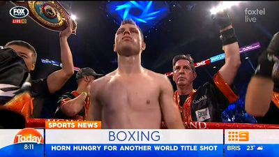 Jeff Horn hits out at Anthony Mundine over pre-fight absence