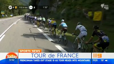 Cycling: Julian Alaphilippe takes first Tour de France mountain stage